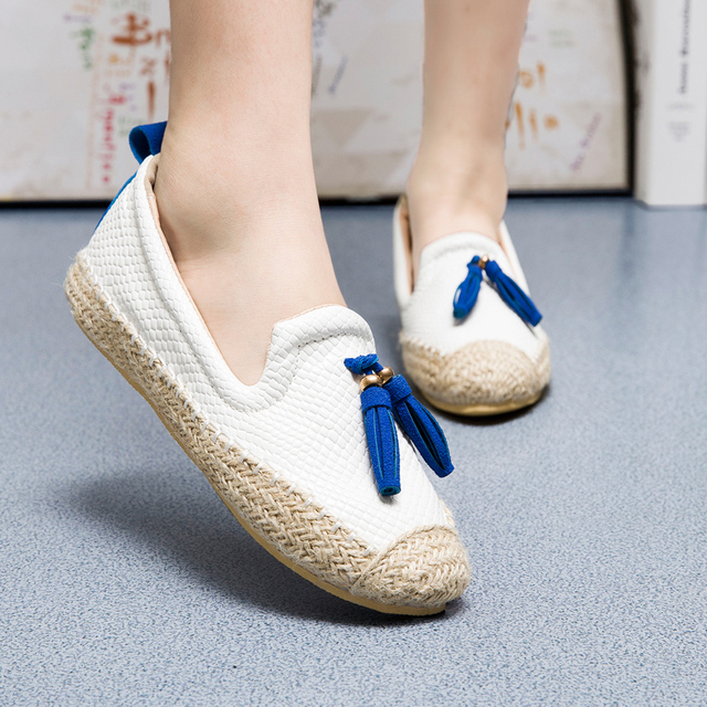 0f37c18c5 Moccasins Moosehide Classic Loafers Ballerina Tassels Slippers Women Flat  Mother Casual Woman Girl Lady Shoes Height Increase