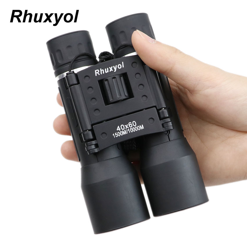 Rhuxyol 2019 40x60 Zoom Field glasses Great Handheld Telescopes binoculars