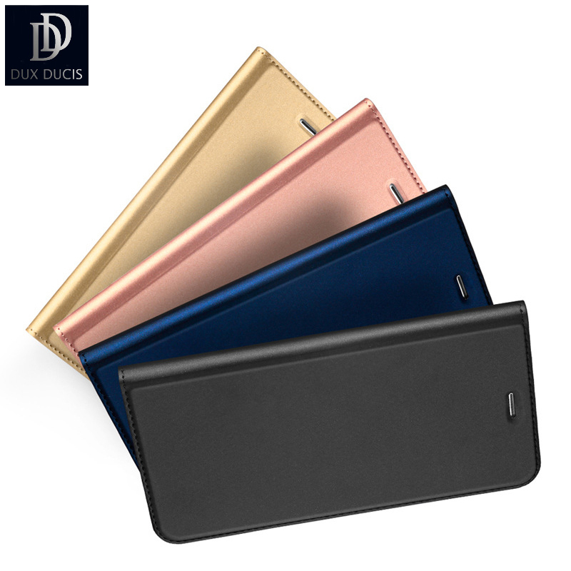 DUX DUCIS Original for Samsung Galaxy S7 Edge Leather Case Wallet for Samsung Galaxy S8 Plus