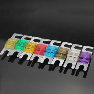 ANL Plated Stud Car Fuses Mini Car Stereo Audio AFS Fuse 20A 30A 40A 50A 60A 70A 80A 100A 125A 150A 175A 200A(China)