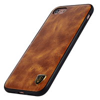 Jetjoy For Iphone 6 6s 7 Vintage Leather Phone Case Cover Luxury Ultra Thin Shockproof Soft