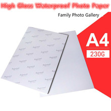 new arrival 40 Sheets Glossy 180 g A4 A3 4x6 Photo gloss coated waterproof Paper For Inkjet Printer Paper Supplies Printing 100 sheets a3 double sided a4 high glossy photo gloss paper for inkjet printer photo studio photographer imaging printing paper