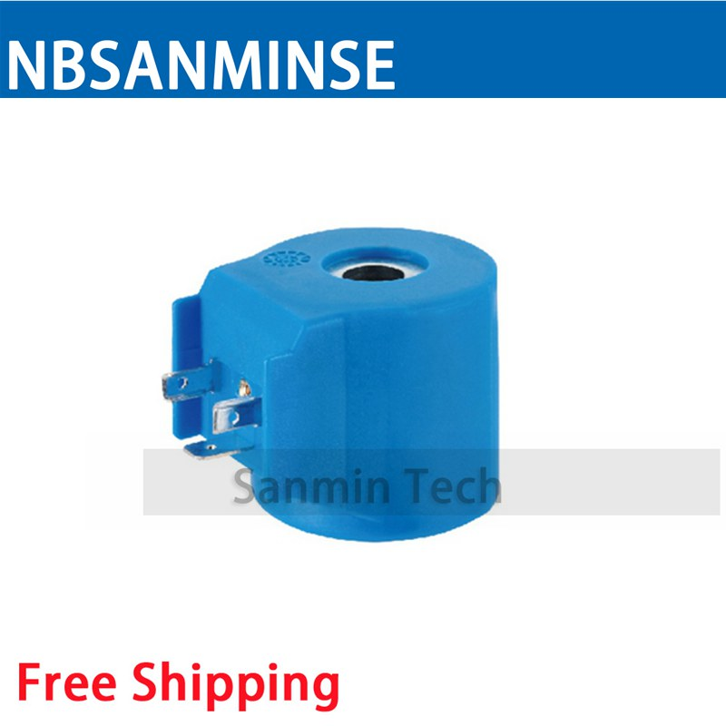 WJ - 5 Magnetic Valve For Household Appliances Coil Electrical Solenoid Valve Coil AC220V Voltage Type Valve Coil Sanmin pc400 5 pc400lc 5 pc300lc 5 pc300 5 excavator hydraulic pump solenoid valve 708 23 18272 for komatsu