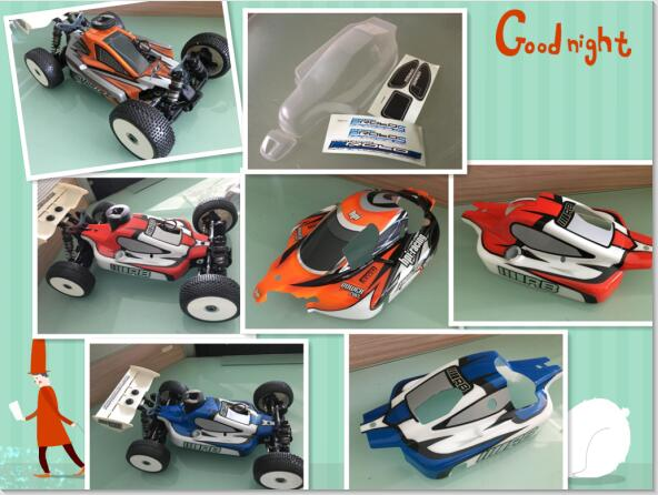 US $39 99 |HPI RB Racing 1/8 scale RC Off Road Nitro 25 28 21Race Buggy  Body shell painted For HSP LOSI FS ROBOTRONIC REDCAT HOBAO OFNA FS-in Parts  &