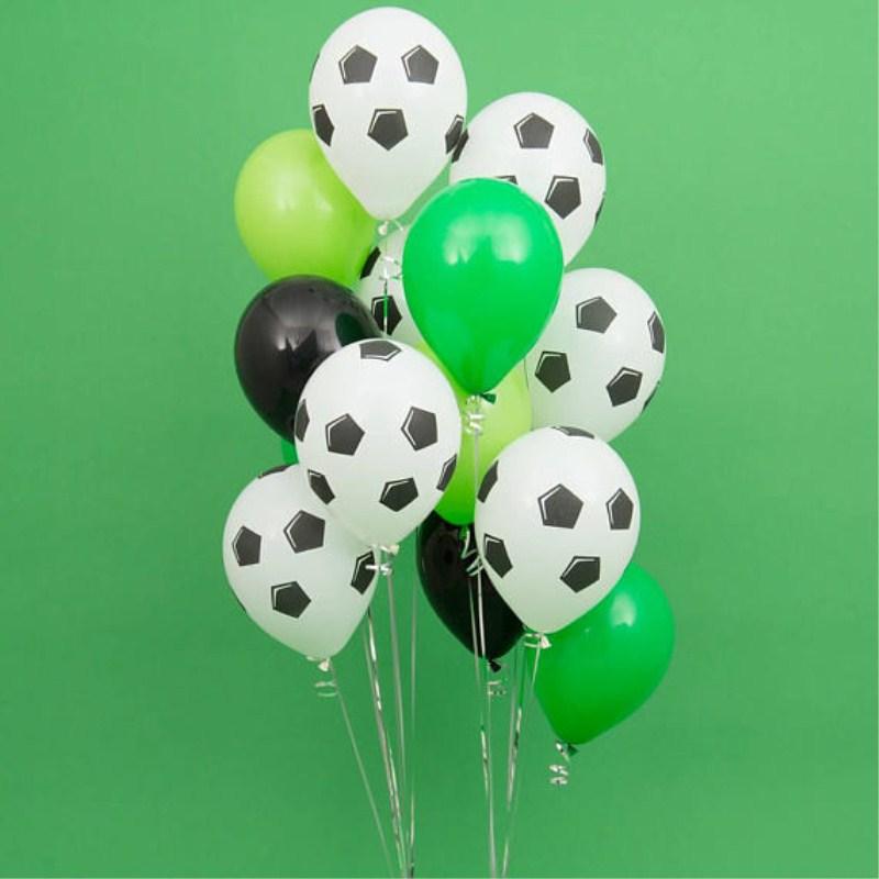 1 комплект, футбольные воздушные шары из латексной фольги