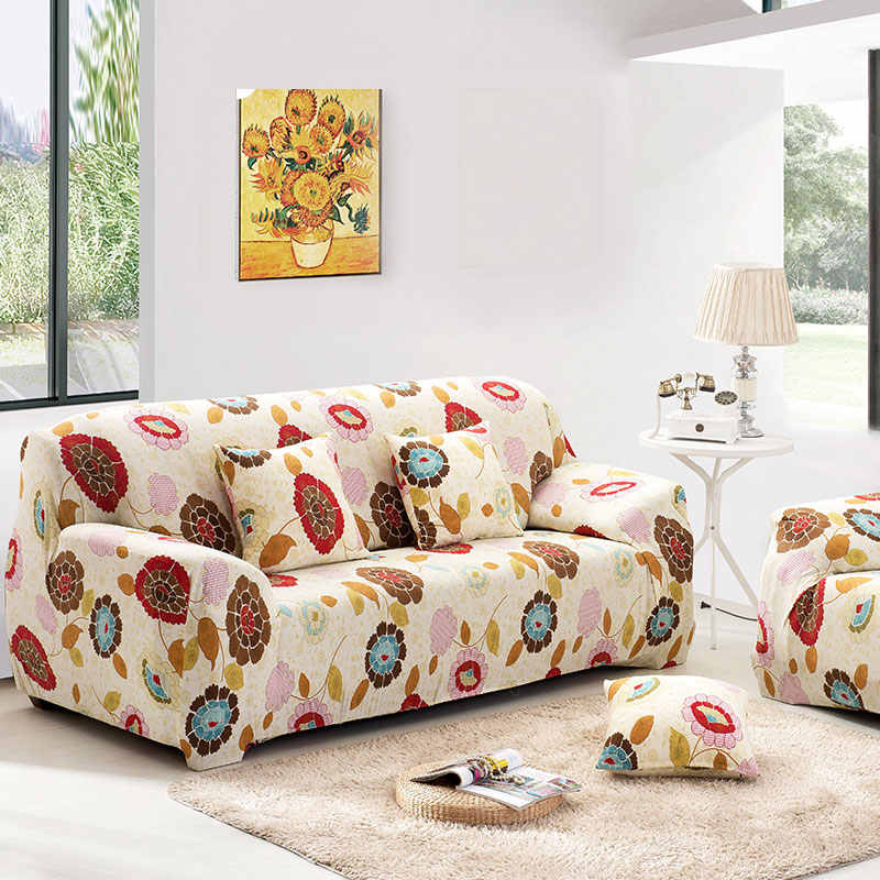 Custom stretch fabric sofa sets all-inclusive universal sofa cover all cover towel European summer leather sofa cushion slip1pcs