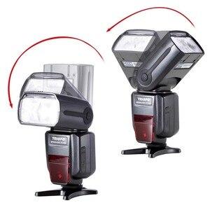 Image 4 - TRIOPO TR 988 Flash profesional Speedlite TTL con sincronización de alta velocidad para cámaras DSLR Canon d5300 Nikon d5300 d200 d3400 d3100
