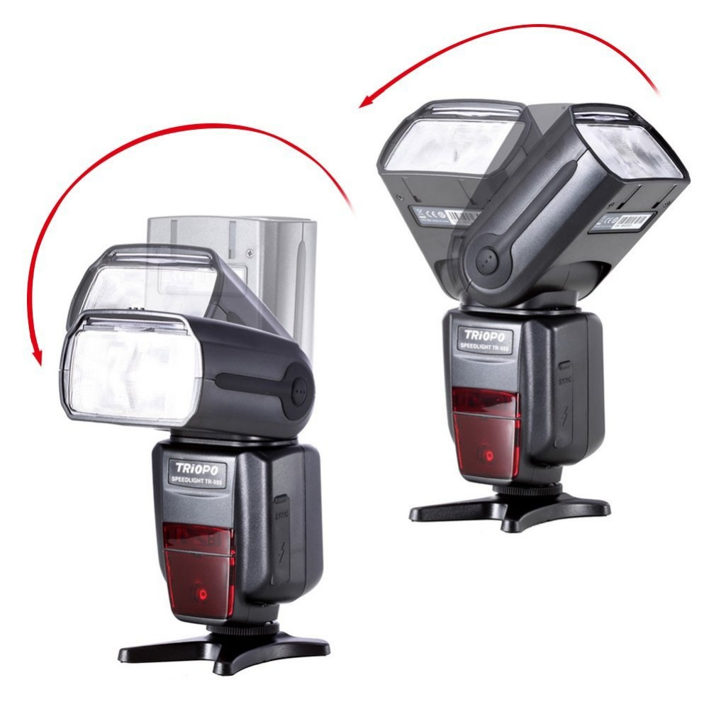 Image 4 - TRIOPO TR 988 Professional Speedlite TTL Flash with *High Speed Sync* for Canon d5300 Nikon d5300 d200 d3400 d3100 DSLR Cameras-in Flashes from Consumer Electronics