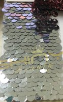 10FTX13FT Two Face Silver Sequin backdrop, 3x4M Sequin Curtain for Party background Decoration.