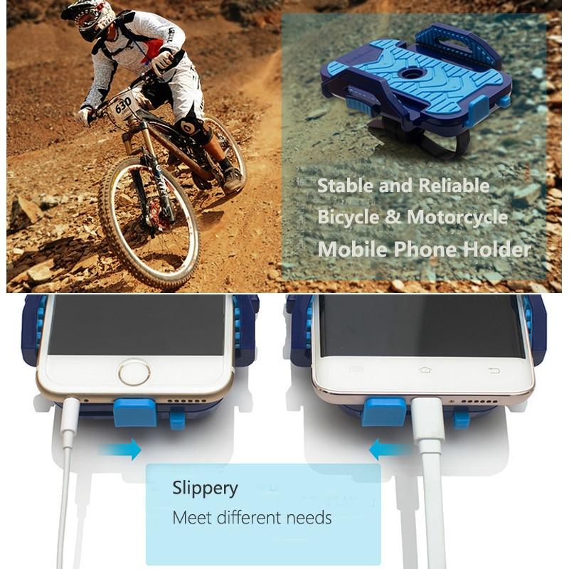Sepeda Telepon Pemegang Sepeda Motor Soporte Movil Bicicleta - Aksesori dan suku cadang ponsel - Foto 4