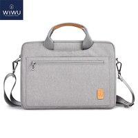 WIWU Laptop Bag Case 13 14 15.4 inch Waterproof Notebook Bag for MacBook Air 13 Case Women Men's Shoulder Bag for MacBook 15.4