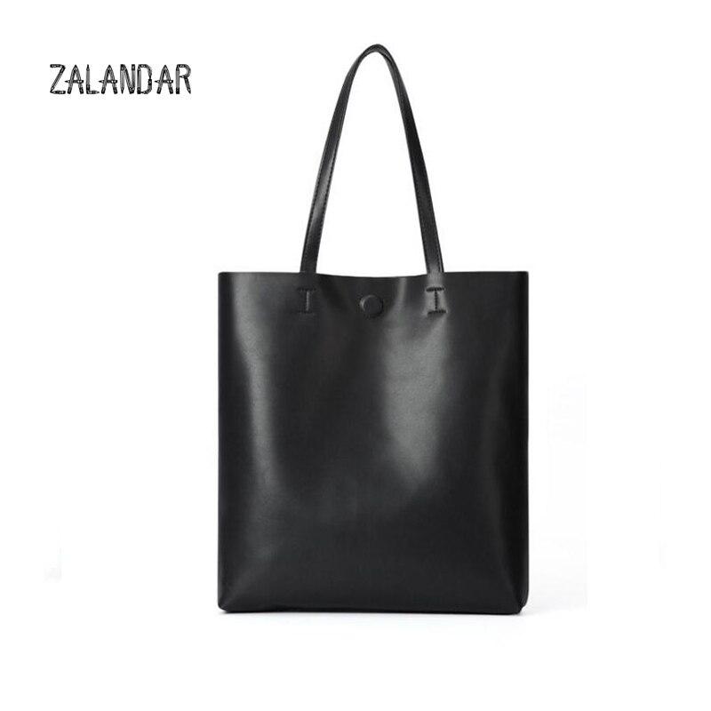 ФОТО ZALANDAR Real Genuine Leather Causual Women Handbag Large Shoulder Bags Elegant Ladies Tote Sacthel Purse Bolsa  2016 New