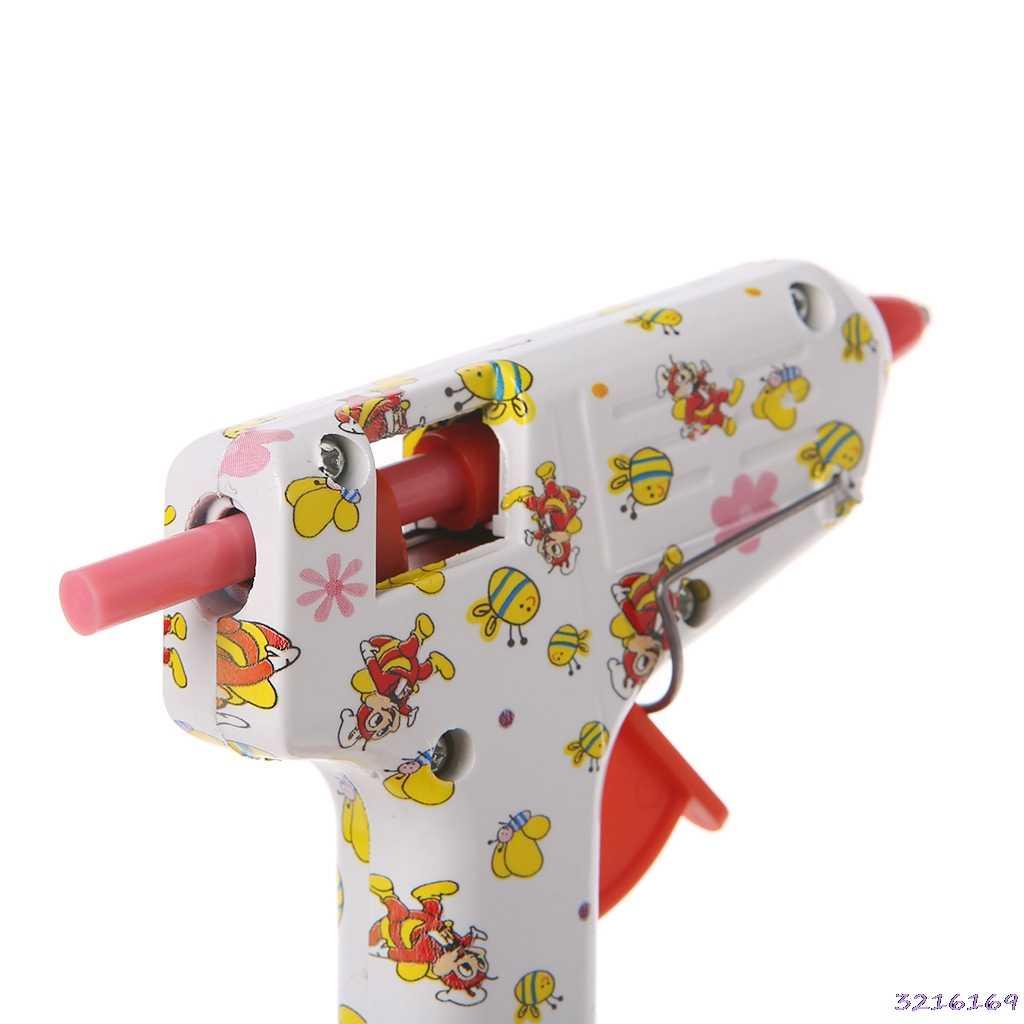 5 個のホットメルト接着剤スティックカラフルな 7 × 100 ミリメートル接着剤 DIY クラフトおもちゃの修復ツール