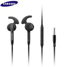 3.5mm Wired אוזניות עם בקרת עוצמה מרחוק Mic אוזניות סטריאו ספורט Earbud לסמסונג גלקסי S6 S7 קצה S8 s9 S10 E בתוספת