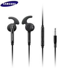 Cuffie cablate da 3.5mm con microfono controllo del Volume remoto auricolare sport stereo auricolare per Samsung Galaxy S6 S7 edge S8 S9 S10 E PLUS