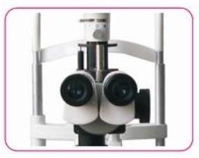Szemkórház 5 lépéses nagyítású réselt lámpa mikroszkóp - Mérőműszerek - Fénykép 4