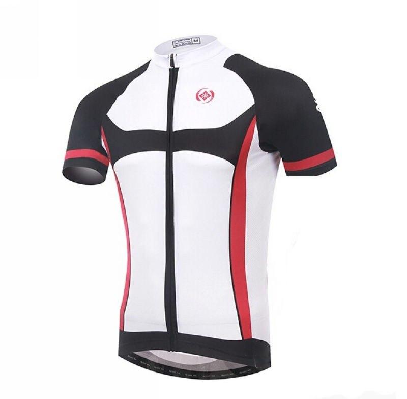 Nuevo equipo de los hombres de xintown Bicicletas Ciclismo Jersey ropa MTB ropa blanco negro rojo bicicleta Top Camisas transpirable cc0371