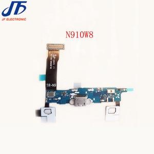 Image 2 - 10pcs עבור Samsung galaxy הערה 4 N910F N910A N910T N910V N910P N910W8 USB מטען מחבר טעינת מזח נמל plug להגמיש כבל