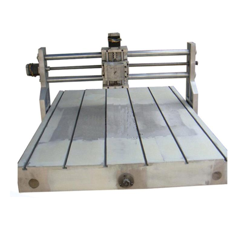 CNC router machine frame 6090 lathe milling 600*900mm parts 80mm spindle 2.2KW discount cnc aluminium router 6090