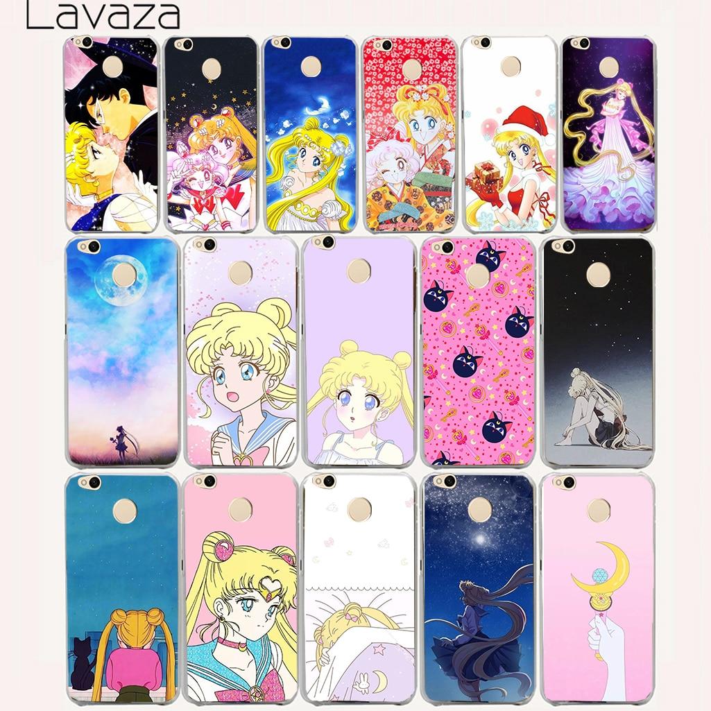 Lavaza 114aa Cute girl Sailor Moon Anime Hard Case for Xiaomi Redmi 3s 4 4a 5 Plus Note 5a 5 4 4x 3 Pro