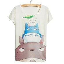 2016 New Women Tops cute Totoro printed best friends t shirt camisas mujer femme loose tops ladies clothing women's tee tshirt