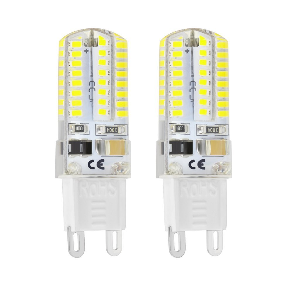 5pcs g9 64led white light crystal bulb lamps 3w 220v equivalent to 5pcs g9 64led white light crystal bulb lamps 3w 220v equivalent to 20w t3 halogen track bulb replacement led bulbs ceramic lamps in led bulbs tubes from parisarafo Images