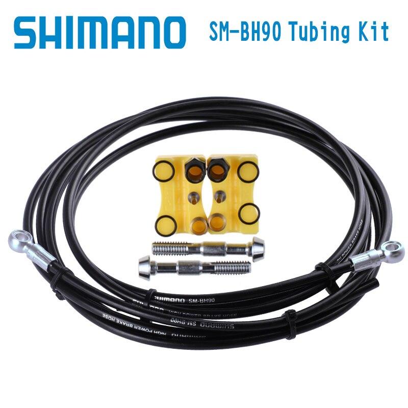 Shimano XTR XT SLX ALFINE SM-BH90-SB 1700mm Disc Brake Hose BH90 Brake Tube organic disc brake pads set for shimano xtr xt lx hone deore saint slx