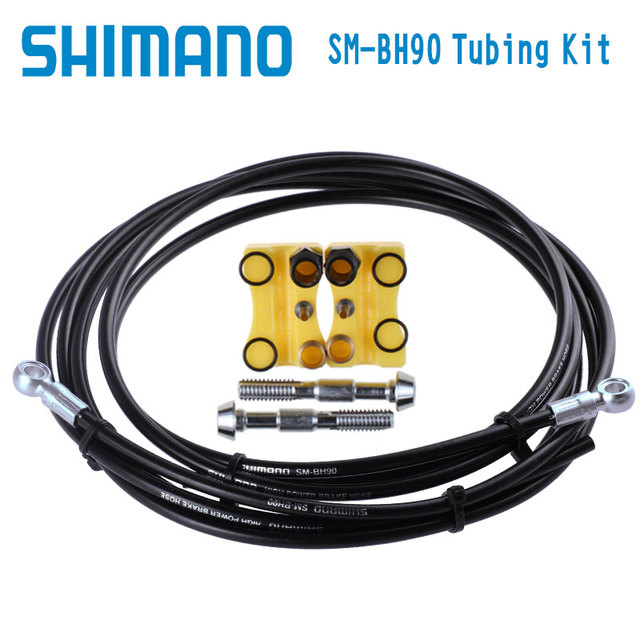 US $15 18 9% OFF|Shimano XTR XT SLX ALFINE SM BH90 SB 1700mm Disc Brake  Hose BH90 Brake Tube-in Cables & Housing from Sports & Entertainment on