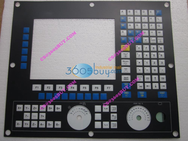 8055 button mask keysters panel operation panel New new membrane keypad operation panel button mask for mp270 10 6av6542 0ad15 2ax0