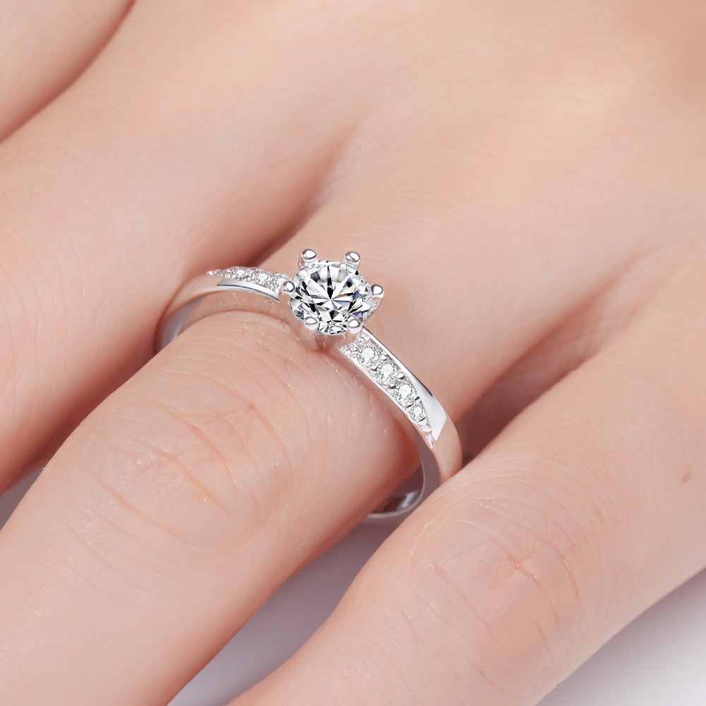 MEGREZEN Cute Wedding Rings Cheap Anillo Silver Jewelry Dropshipping ...