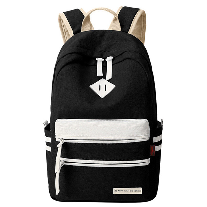 Холст Школьные сумки для девочек Женский рюкзак ранцы высокое качество рюкзак женственный Книга сумка