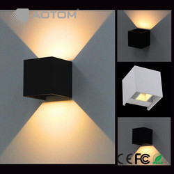 7w 220v waterproof cube led night light wall lamp modern home lighting decoration indoor outdoor light.jpg 250x250