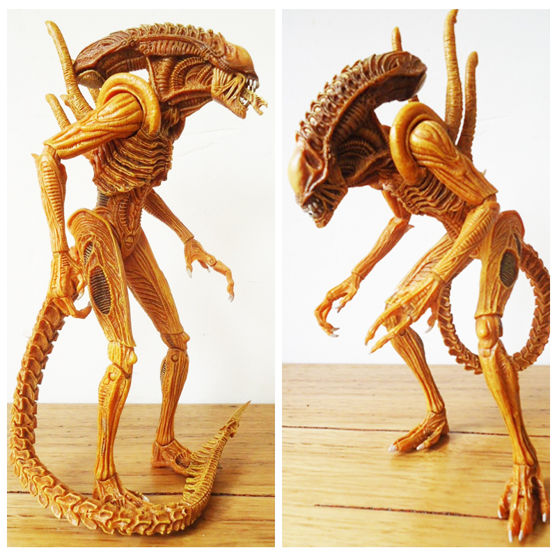 7inch Neca Sewer Mutation Warrior Alien Action Figure Collectible For Kids Toys Gifts 7inch Neca Sewer Mutation Warrior Alien Action Figure Collectible For Kids Toys Gifts