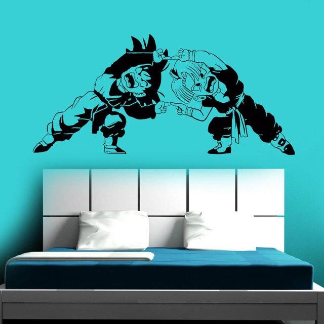 dragon ball z (dbz) kid goku nimbus wall car window vinyl sticker