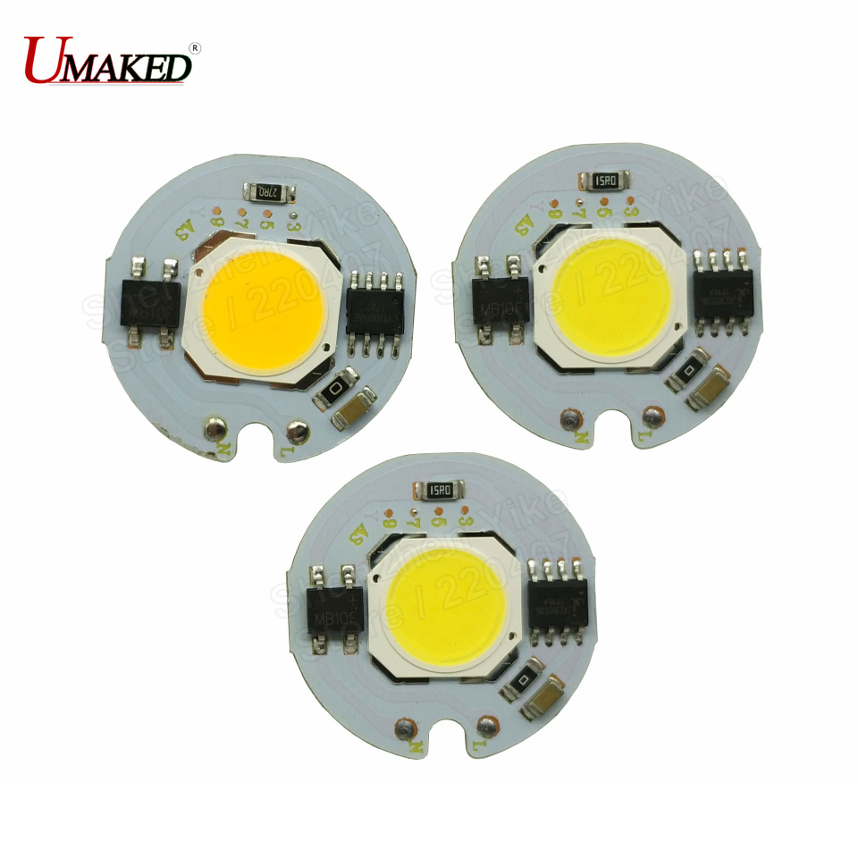 LED COB Lamp Integrated High Power Light AC220V 110V Lamps With Smart IC Driver 30W 50W Spotlight White / Warm White LED Lights