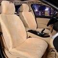 Tamaño de piel cubiertas Del asiento de Coche universal auto cabos para asientos de automóviles 4 colores para lada priora kalina granta renault logan opel toyota