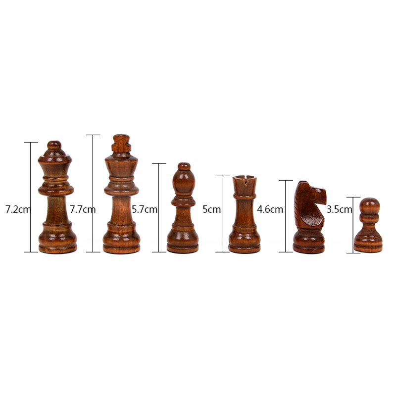 New Hot Folding Chess Wooden Chess Game Children Gifts Crafts multifunctional Chess Set Pieces Interesting Backgammon Board Game in Chess Sets from Sports Entertainment