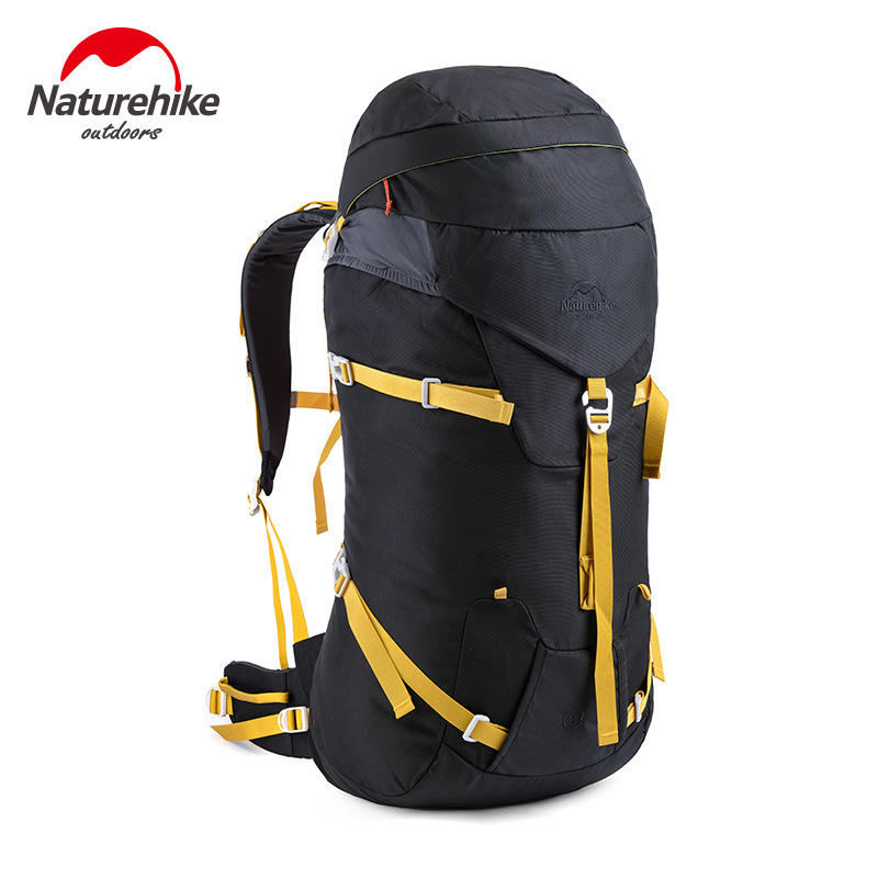 Naturehike Climbing Backpacks Outdoor Sport Backpack Hiking Camping Travel Rucksack Pack Mountaineering Bags Sightseeing 45L
