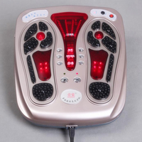Healthsweet Electric Foot Care Massager Heating Low Frequency Infrared Stimulation Vibrating Blood Circulation Massage Machine