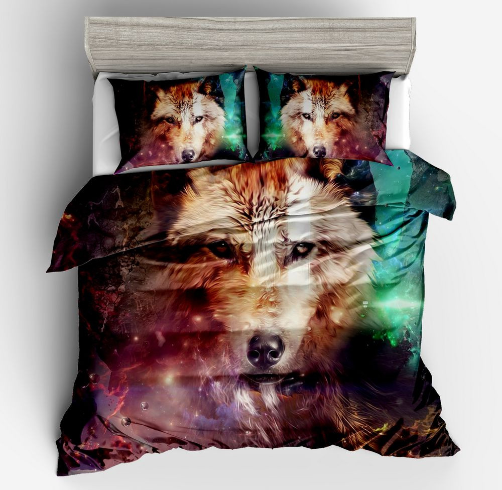 Where Light And Dark Meet by Bedding Set Wolf 3D Duvet Cover Pillow cases Wolf Eye Bed Set 3pcs Art Print Bedclothes full sizeWhere Light And Dark Meet by Bedding Set Wolf 3D Duvet Cover Pillow cases Wolf Eye Bed Set 3pcs Art Print Bedclothes full size