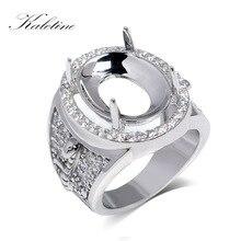 # RSHC3008 אמיתי 925 סטרלינג כסף באיכות גבוהה גדול גברים של טבעת ללא ראשי אבן מוכן עבור גדול אבןmen ringgenuine 925 sterling silver925 sterling silver