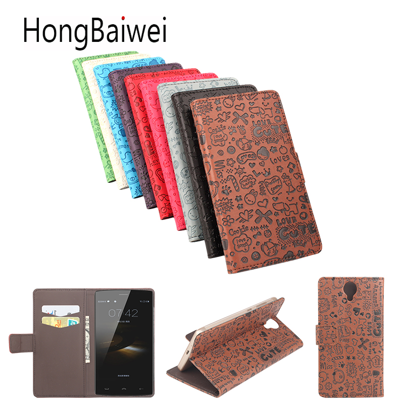 Filp Case for <font><b>Homtom</b></font> HT7 Pro Case Cover Girls Cute Cartoon For <font><b>Homtom</b></font> 16 17 <font><b>20</b></font> Wallet type mobile phone leather case image