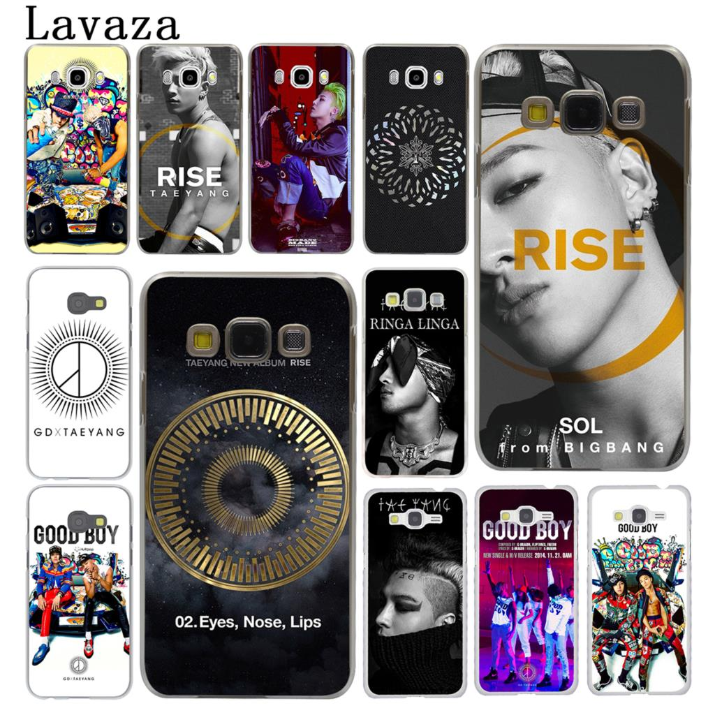 Lavaza GD X TAEYANG Kpop Hard Phone Case for Samsung Galaxy J7 J1 J2 J3 J5 2015 2016 2017 Prime Pro Ace 2018 Cover