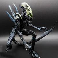 Alien vs Predator SAINTGI zabawki Mieszane ludzkie AVP ABS 23 cm Model Collectie dzieci Brinquedos Serii MOVIE Blizna Sci-fi Film Lone wilk