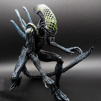 SAINTGI Alien vs Predator toy Mixed human AVP ABS 23cm Model Collectie kids MOVIE Brinquedos Series Scar Sci-Fi Film Lone Wolf