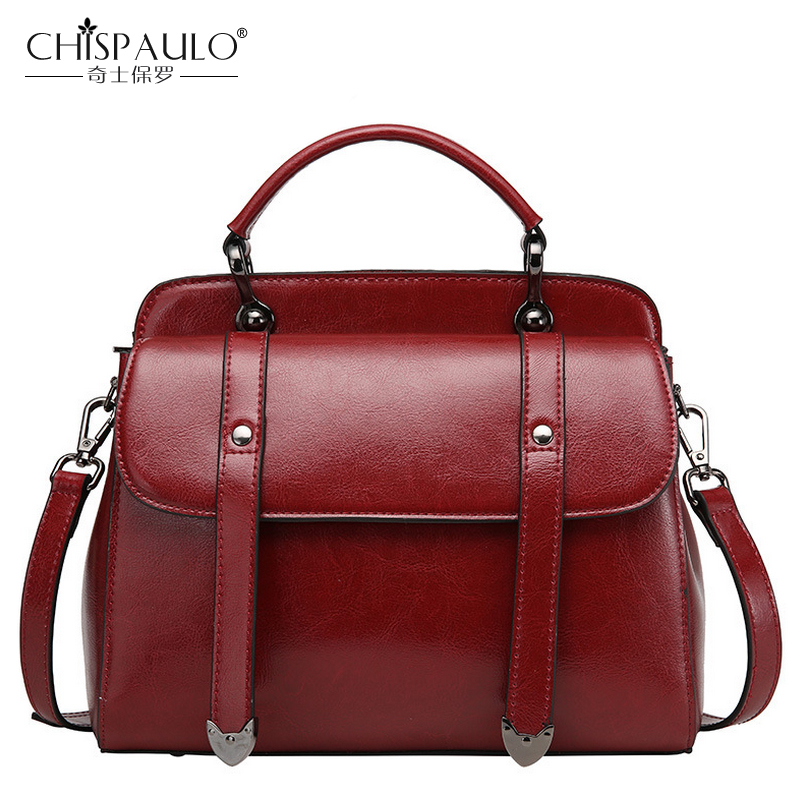 цены  Genuine Leather Women Shoulder Bags Handbags Women Famous Brands Luxury Designer Messenger Bags Cowhide Vintage Flap sac a main