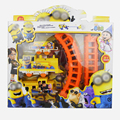 Despicable Me2 Minions Electric Train Track Rails Kids Game Toys for Educational Classic Toys Brinquedos Children Birthday Gifts