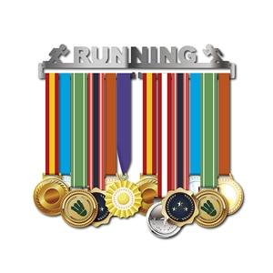 Image 2 - מירוץ מדליית קולב ריצה מדליית מחזיק ספורט מדליית קולב תצוגת להחזיק 10 ~ 16 מדליות