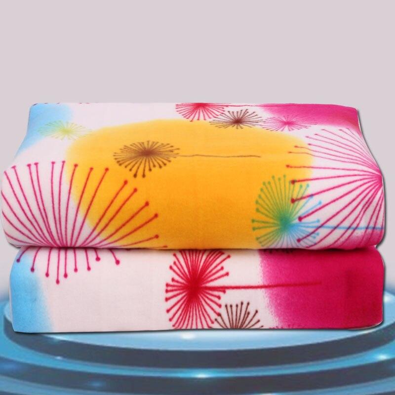 150x180cm elektrická přikrývka Jednolůžko Vytápění Elektrická postel Vyhřívaný koberec Ohřívač matrace Teplá podložka Pro zimní výprodej