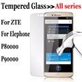 Tampa do protetor de tela de vidro temperado para elephone p80000 p90000 zte s7 x5 v7 lite a452 z11 mini x7 a1 d6 v6 axônio 7 a510 cobrir
